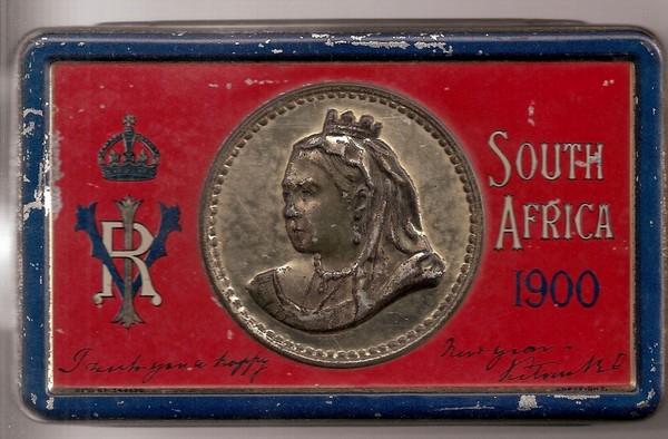 Queen Victoria Boer War 180 Christmas 180 Chocolate Tin