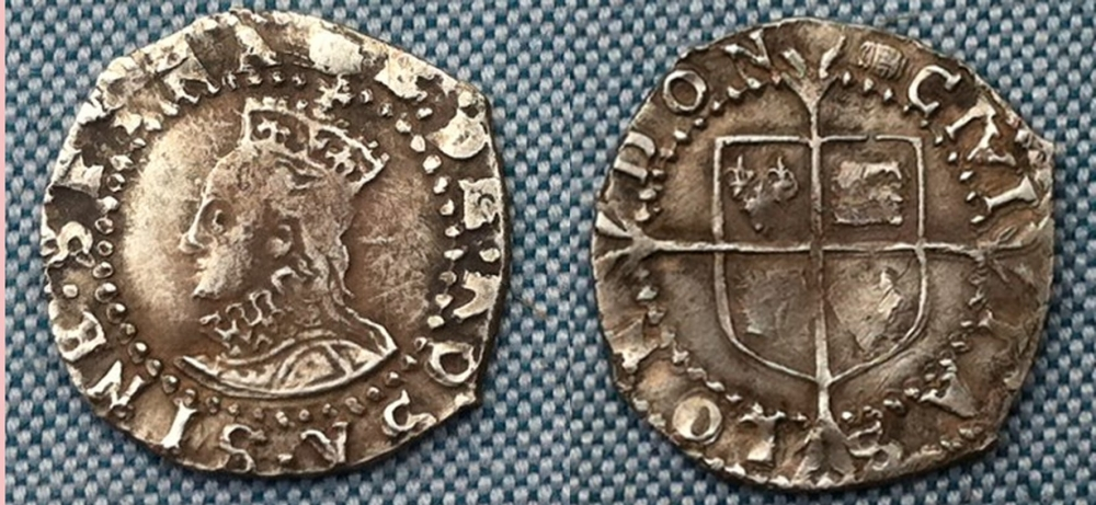 ELIZABETH I SILVER PENNY 6th Issue An Amazing Litte Coin GVF For