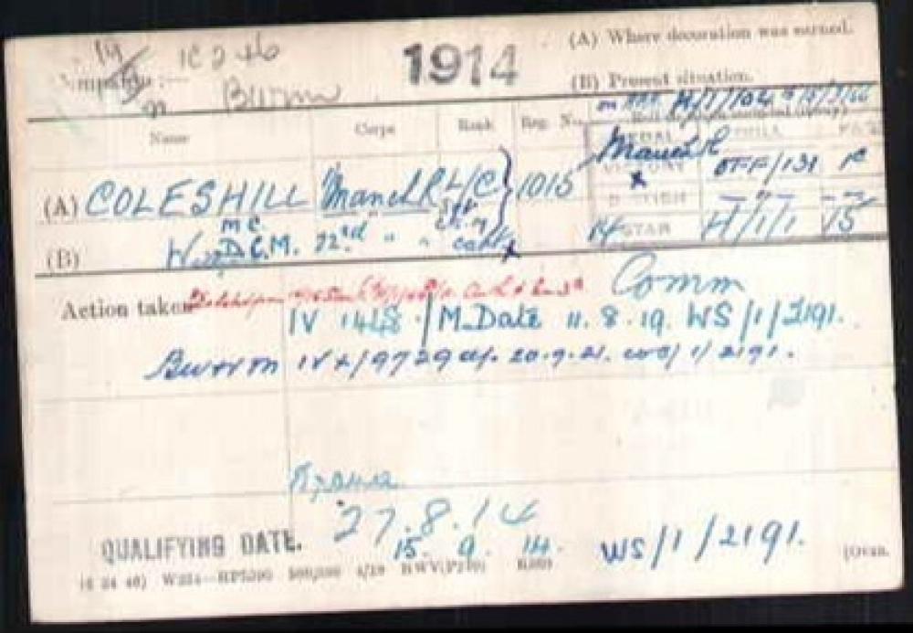 Military id