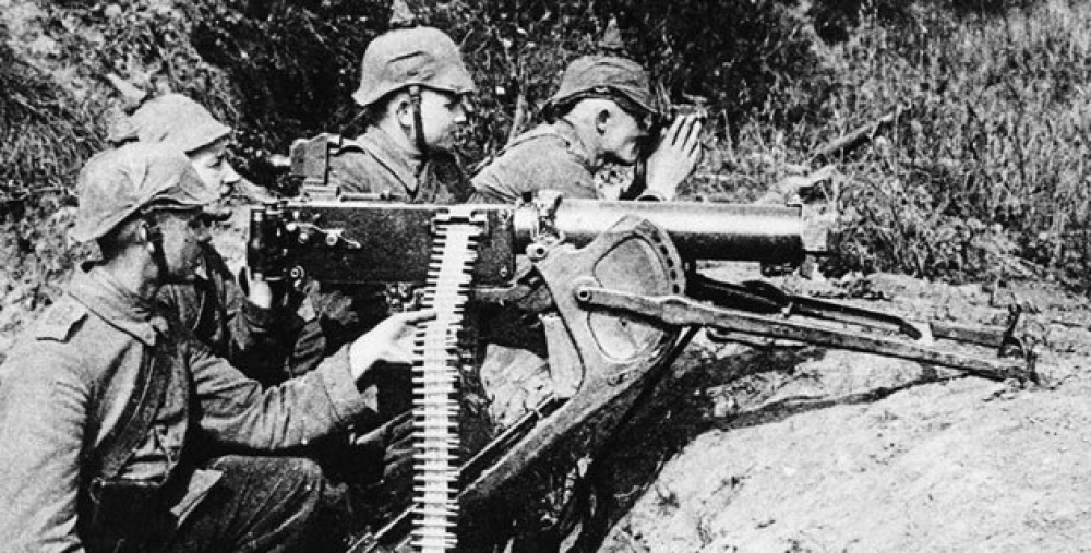 german machine guns ww1 - photo #5