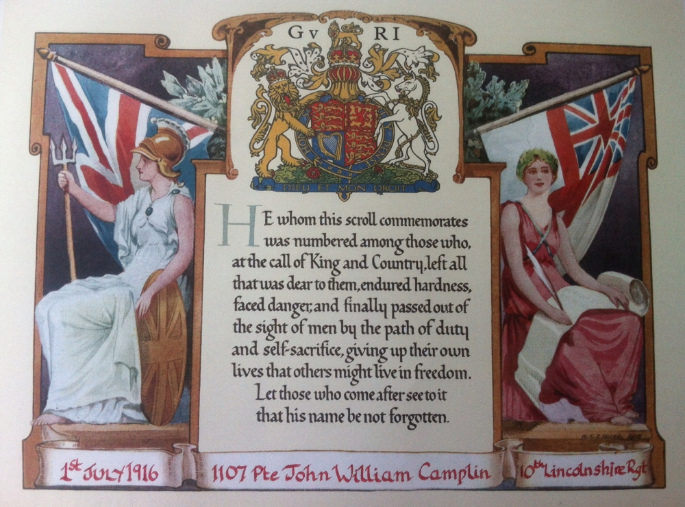 Facsimile Documentsngs Honourable Discharge Cert 1916