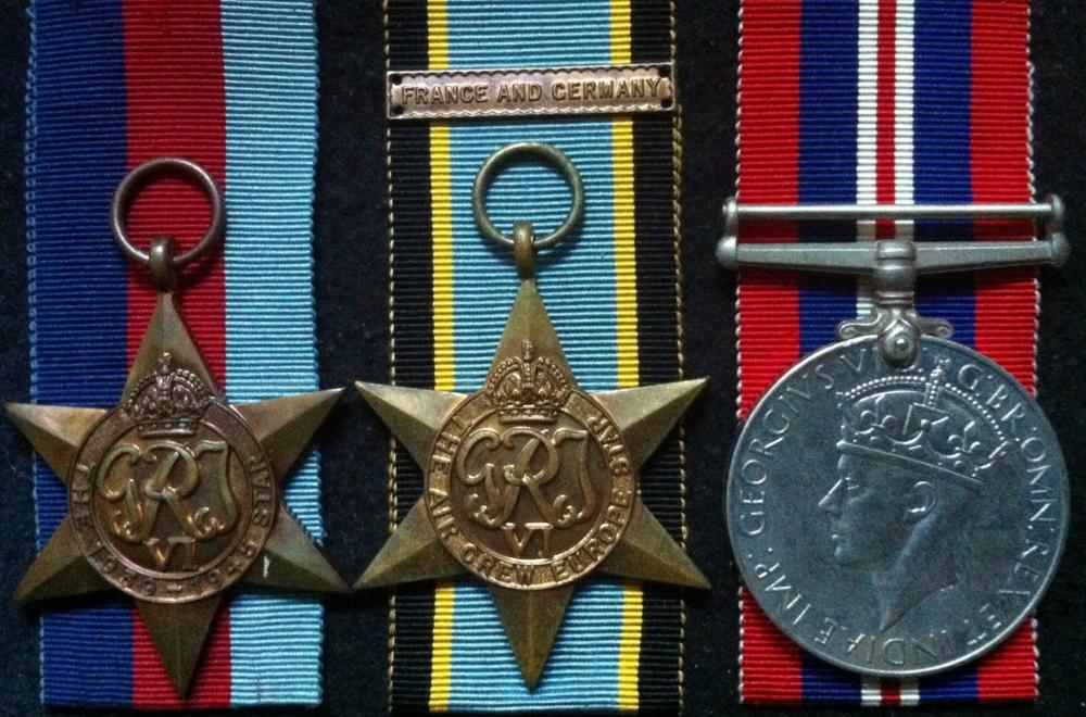 WW2 GRI RAF ARMY NAVY VOLUNTEER AIR EFFICIENCY MEDAL AAF ARMY ROYAL AIR FORCE