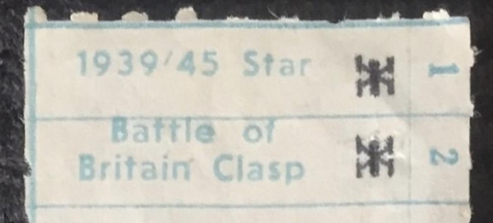 """AN UNUSUAL & RARE """"BATTLE of BRITAIN"""" (85 Squadron"""