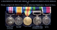 A UNIQUE & HIGHLY IMPORTANT ARMY M.M. WITH RARE R.A.F. �WAZIRISTAN 1925� I.G.S. MEDAL