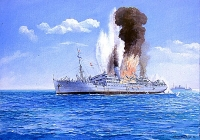 "S.S. KHEDIVE ISMALL. (TROOP CARRIER) 1-27.Japanese Submarine Action. (+ Fathers WW1 R.E. Trio) Highly emotive WW2 R.N. casualty group. The most infamous action of WW2.The inspiration for the famous film ""The Cruel Sea"""