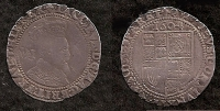 JAMES I. Sixpence. 1st Coinage (m.m. Lis) 1604-1605
