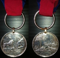 THE BURMA MEDAL (1826) Un-named as issued. Ex-Rare.