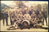 GERMAN P.O.W. CAMP (WWI) Stalag 11 ? �Camp Staff & Guards with British Prisoners�(3 cards)