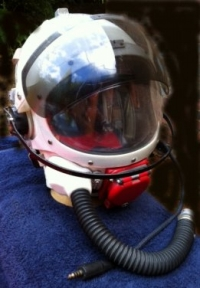 A ´SUPER RARE´  TAYLOR ´PRESSURE HELMET´ (R.A.F.) Late 1960´s. Lightnings, HIGH ALTITUDE.