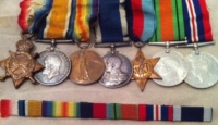 A Classic RN 1914-15 Trio, and L.S.G.C. (Iron Duke) & WW2 39-45 Star, Defence & War Medals .