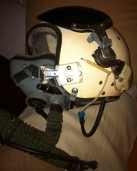 USSR ´COLD WAR´ (1960´s-1970´s) Complete MIG Helmet & Oxy Mask