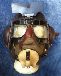 Battle of Britain (A Complete Fighter Rig) Flying Helmet, Goggles & Oxygen Mask (RARE & SUPERB)