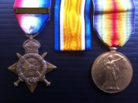 1914 Star & Bar, Victory Medal & Plaque; To 2nd/East Lancs Regt (D.O.W.) 13th July 1916.