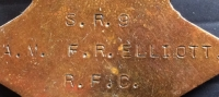 An EX-RARE 1914-1915 STAR TRIO TO THE R. F. C. (SPECIAL RESERVE)