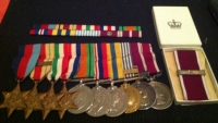 AN IMPORTANT WW2, KOREA, LSGC (& Bar!) MERITORIOUS SERVICE MEDAL GROUP of 10