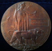 A RARE 1914 STAR & BAR CASUALTY TRIO & PLAQUE. (ROYAL WELSH FUSILIERS) & Brother
