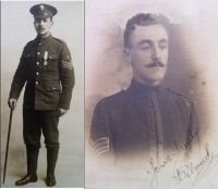 A RARE & HISTORICALLY IMPORTANT 1914 Star & Bar Trio (Severely Wounded DURING THE FIRST FEW HOURS OF THE WAR.) (23rd AUGUST 1914) Left for Dead, Rescued,Made P.O.W, lost a leg, Repatriated,) 1/Rifle Brigade.