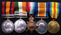 Queen�s & Kings S.A. Medals. 1915 Star Trio: Cape Town Highlanders & 12th Infantry & 2nd S.A.I