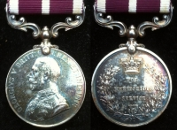 MERITORIOUS SERVICE MEDAL (GV) M2-101391. Pte. W.C. HAYES. 406th Coy. R.A.S.C.