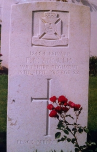 TWO BROTHERS. Both 1915 Trios, (BOTH KILLED IN ACTION) 2nd WILTSHIRE Regt. (From Winterslow)