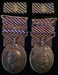 An ´Ultra Rare´ Distinguished Flying Medal & Bar. (Wop/Ag) Flew with Guy Gibson on 106 Squadron
