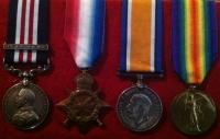 MILITARY MEDAL (& 2nd Award Bar) 1915 Trio. To: 8/CANADIAN INFANTRY (10th Bn, 13th C.M.G. Coy)