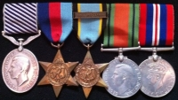DISTINGUISHED FLYING MEDAL. Aircrew Europe, (F&G) Air Gunner.158 Squadron (HALIFAX)