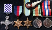 DISTINGUISHED FLYING CROSS (1944) 39-45, Aircrew Europe, Defence & War (Air Gunner) �Unattributed�