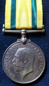 TERRITORIAL FORCE WAR MEDAL (1919) To: 889. Cpl J. MALCOLM. R.E.