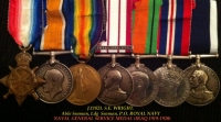 Ultra Rare, NAVAL GENERAL SERVICE (IRAQ 1919-1920) 1915 Trio, Defence & War, L.S.G.C.
