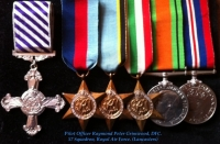 DISTINGUISHED FLYING CROSS (1943) Aircrew Europe, Italy, (Lancasters) 57 Sqd RAF & BEA Capt.