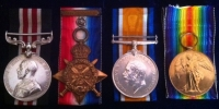 MILITARY MEDAL, 1914 Star & Bar Trio (Killed in Action)1st Bn Grenadier Guards. 21st September 1916 ( Trones Wood ) 