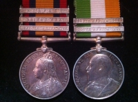 QUEEN�S & KING�S SOUTH AFRICA MEDALS (DEFENCE OF LADYSMITH) R.F.A. �MINT STATE�