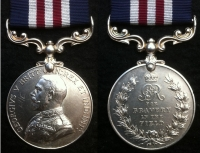 MILITARY MEDAL (Single) 6th/Liverpool Regt (Rifles) T.F. Twice Wounded In Action. From Kerry, Ireland.