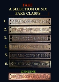 GENUINE & FAKE 5th AUG-22nd NOV CLASPS