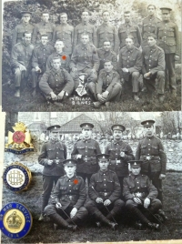"Emotive ""Brothers"" Casualty Group. MASS Lot of Papers & Photos. WILTS Regt & R.F.A. Served in SS CAIRNRONA in April 1910 During EXPLOSION."