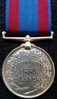 NORTH WEST CANADA MEDAL (1885)