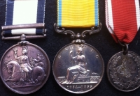 NAVAL GENERAL SERVICE MEDAL (SYRIA), BALTIC MEDAL & JEAN D