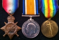 An Excellent & Rare  ROYAL FLYING CORPS 1914-15 TRIO.To: 1583. Sgt. E. KERMETH R.F.C. (on all medals). A Joiner-Carpenter from Croydon. An immediate