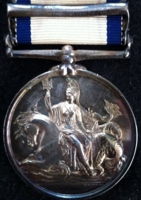 "AN IMPORTANT TWO CLASP N.G.S.MEDAL for ""THE AMERICAN WAR of 1812"" [Ap & May] BOAT SERVICE [1813] & [8th APRIL] BOAT SERVICE [1814] To: Mid, F. L"