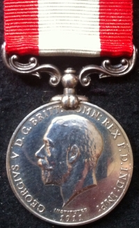 A RARE & DESIRABLE DISTINGUISHED SERVICE MEDAL,(M.F.A.) 