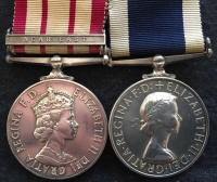 "A NAVAL GENERAL SERVICE MEDAL (QEII) ""NEAR EAST"" 