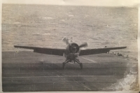 "A RARE R.N. ""SEAFIRE PILOT"" CASUALTY GROUP & M.I.D.To. Lieut (A) A.C.POWELL. 807 Sqd. RNAS. Flew Ops"