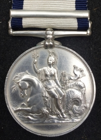 A Very Rare & Desirable NAVAL GENERAL SERVICE MEDAL