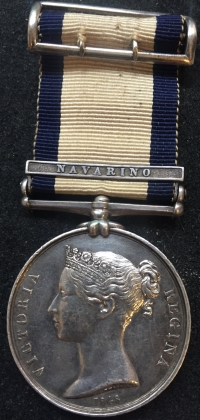 A SUPERB PAIR OF NAVAL GENERAL SERVICE MEDALS. To: