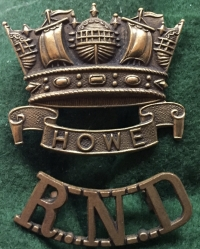 A RARE & DESIRABLE ROYAL NAVAL DIVISION (RNR) 