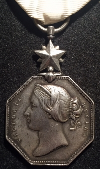 "A RARE & VERY ATTRACTIVE ""ARCTIC MEDAL"" (1857) 