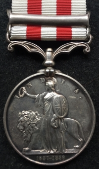 "A SCARCE INDIAN MUTINY MEDAL ""LUCKNOW""